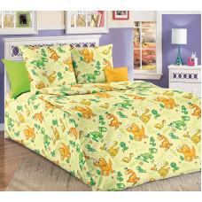 Детское постельное белье бязь Динозаврики