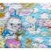 """Покрывало детское стеганое """"Зайкин город"""" от производителя купить в Москве,СПБ."""