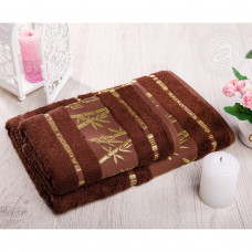 "Полотенце махровое ""Бамбук-шоколад"" (2 шт)"