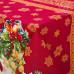 """Скатерть из рогожки """"Рождество"""" от Ивановского производителя."""